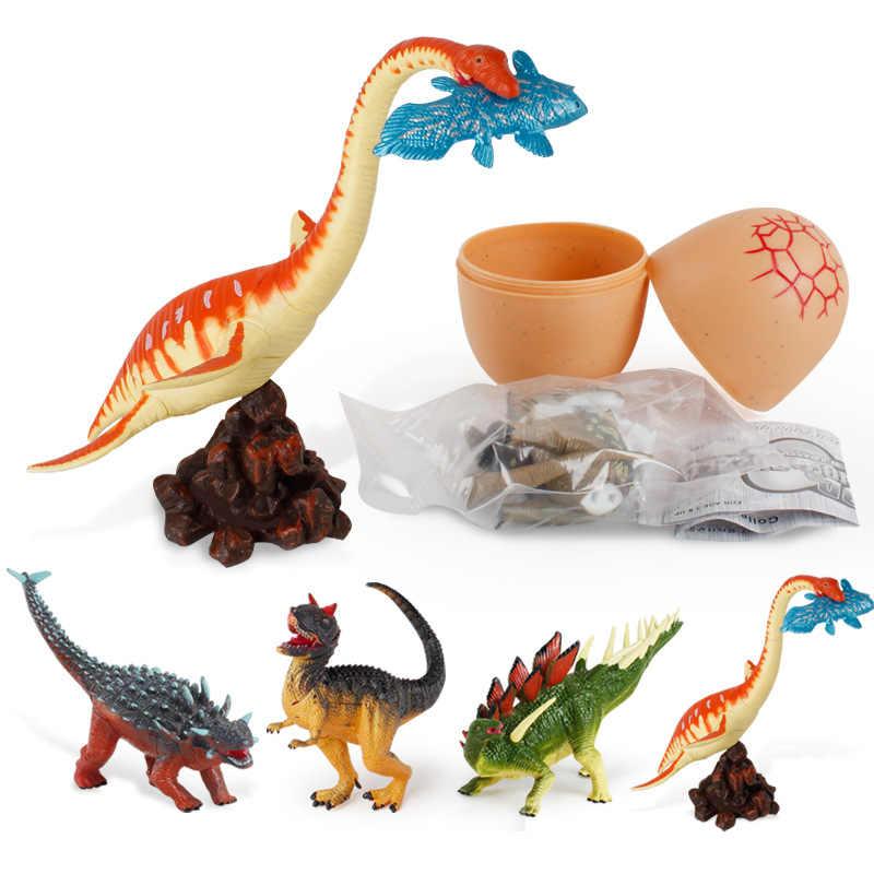 ビッグサイズジュラ紀野生生物恐竜おもちゃセットプラスチック再生おもちゃ世界公園モデルアクションフィギュア子供少年ギフトホーム装飾