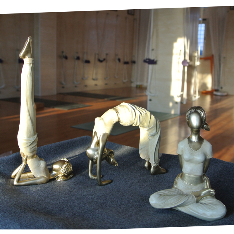 Yoga Lady Figurine 3 Pcs Set 5