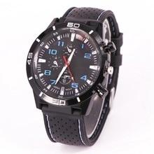 Military Sports Quartz Watch Silicone Strap Wrist Watch Chronograph Luxury Sport Analog Quartz Mens Brand Watch TZEW0051 цена