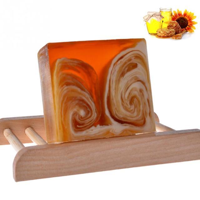 Natural Handmade Honey Soap Propolis Honey Milk Soap Face Care Replenishing Whitening Skin Beauty Bleaching Deep Cleansing Soap 1