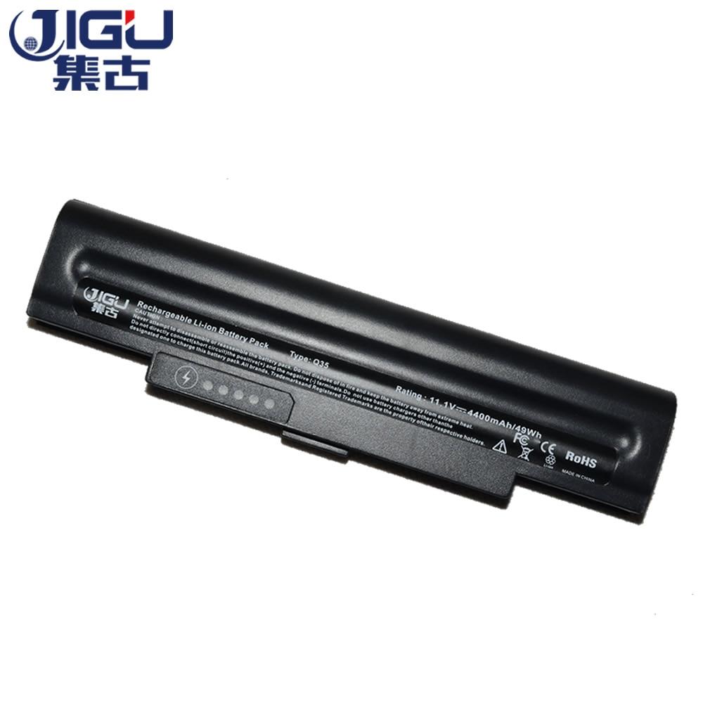 JIGU 4400mah Replacement Laptop Battery AA-PB5NC6B AA-PB5NC6B/E For Samsung NP-Q45 NP-Q35 NP-Q70 Q35 Q45 Q70 Q35 Pro Series аккумулятор 4parts lpb nc10w для samsung mini nc10 nc20 n110 n120 n130 n140 series 11 1v 4400mah white аналог pn aa pb6nc6w
