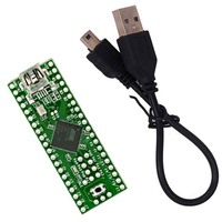 Teensy 2 0 USB AVR Development Board Keyboard Mouse ISP USB Drive Experimental Plate AT90USB1286