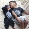 2015 bobo choses kikikids meninos do bebê rompers crianças jumpsuites bebê meninas roupas vetement garcon new born roupa do bebê bebe fille