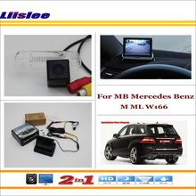 Car Reverse Backup Rear Camera + 4.3 TFT LCD Screen Monitor = 2 in 1 Rearview Parking System/ - For Mercedes Benz ML M MB W164