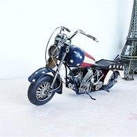 Nouvelle Mode De style Américain Rétro métier en métal vintage main modèle de moto jouet pub/home décoration Promotion/cadeau d'affaires