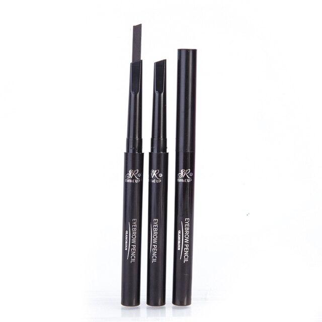 1 Pcs Brand SR MAKE UP Eyebrow Automatic Waterproof Pencil Makeup 5 Styles Paint Eyebrow Pencil Cosmetics Brow Eye Liner Tools 2