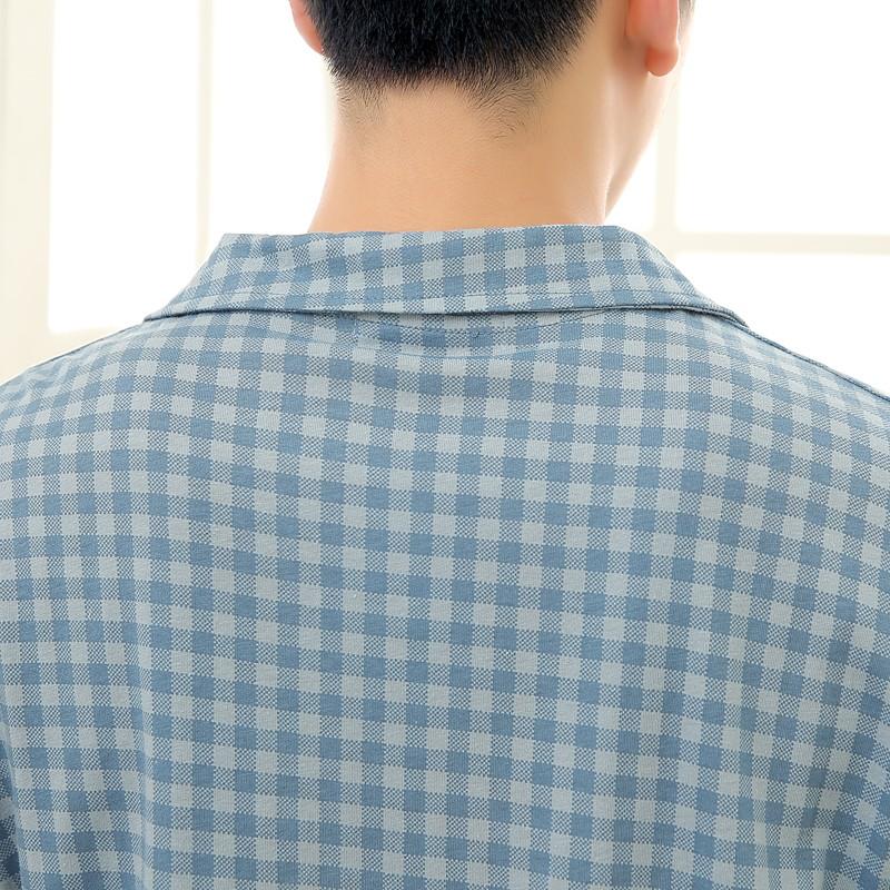 Men\'s Cotton Polyester Pajama Sets RBS-C LYQ1414 11