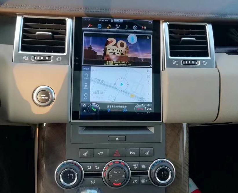 LaiQi 10,4 Quadcore dvd плеер автомобиля 1024x768 автомобилей Вертикальная Экран 32 ГБ Встроенная память стерео gps навигации для RANGE ROVER