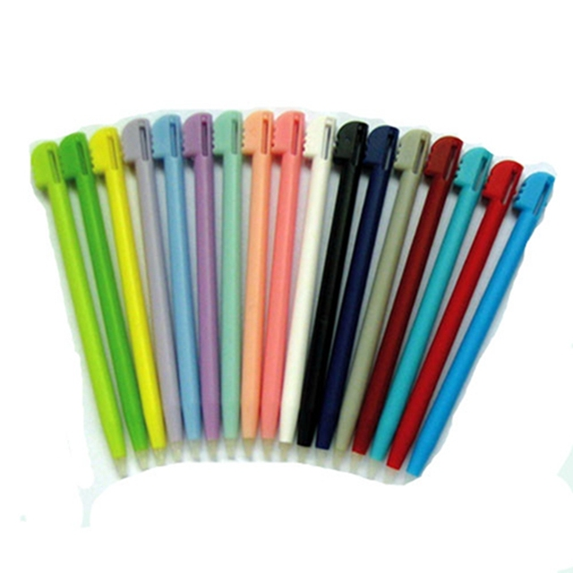 New 15pcs/lot Multicolor Touch Pen Replacement Stylus Pointer Touch Pen For NDS For DS Lite Handheld Video Game