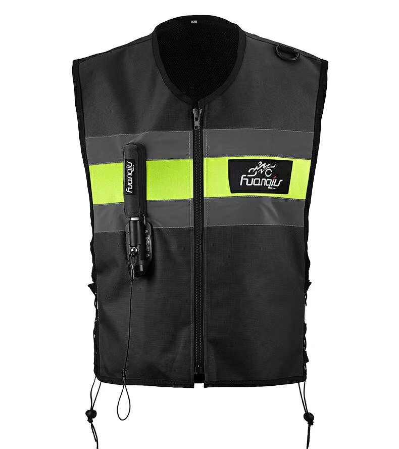 Moto rcycle fermeture éclair airbag gilet Moto course professionnel avancé airbag système moto cross protection airbag