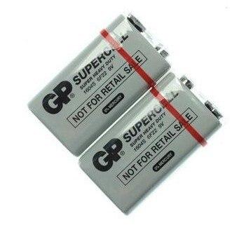 Оптовая продажа 20 шт./лот GP 9 В 6F22 1604 S тяжелых Батарея Батареи для Камера Игрушечные лошадки пульт дистанционного управления