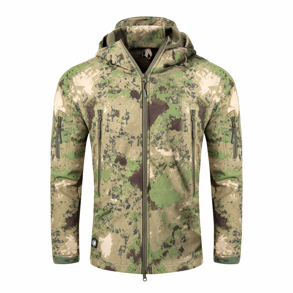 New High Quality TAD V 4.0 Lurker Shark Skin Softshell Jacket Men Military Jacket Waterproof Windproof Army Clothing