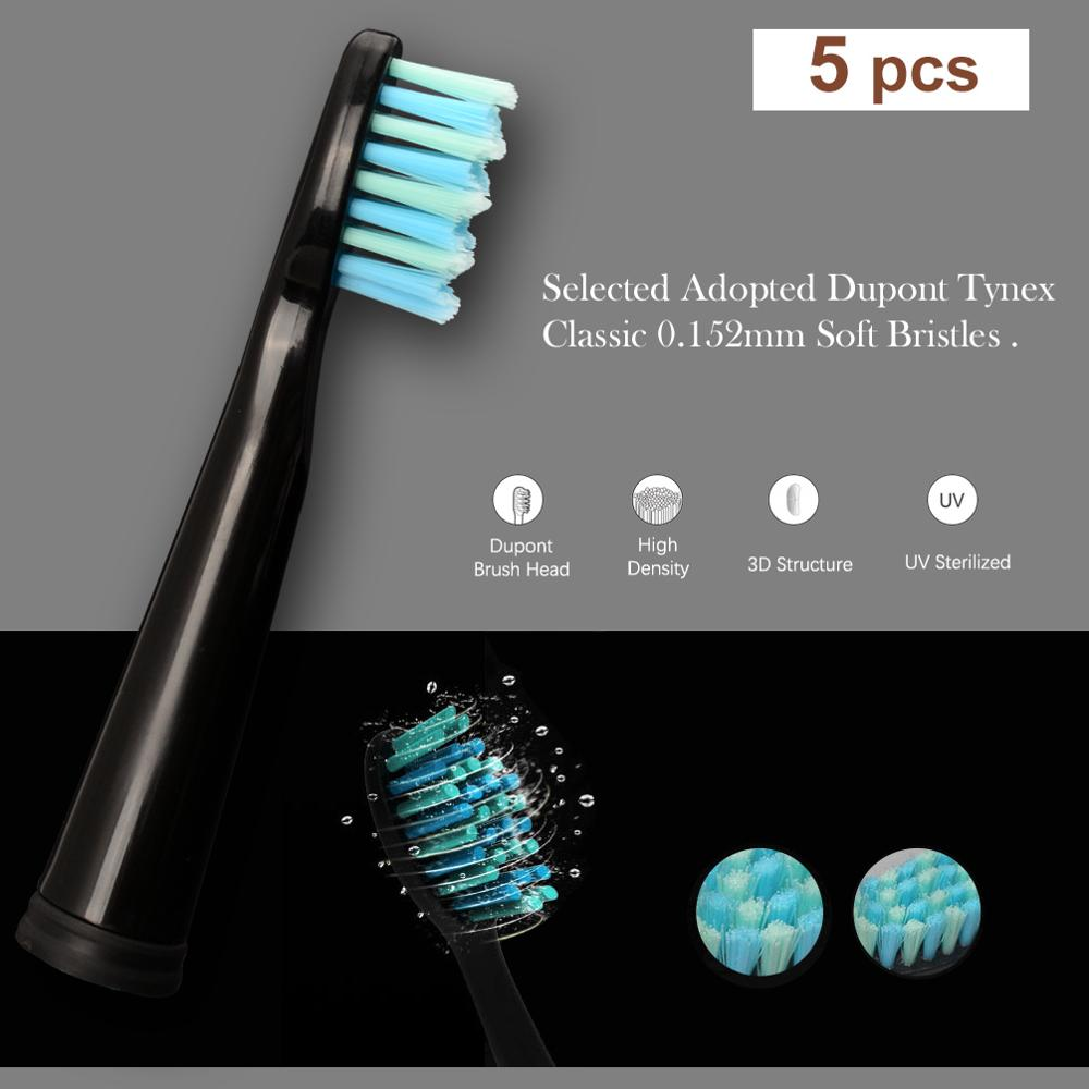 Seago Electric Toothbrush Replacement Heads fit for SG551 SG515 SG958 SG949 SG507 Original Electric Toothbrush Heads