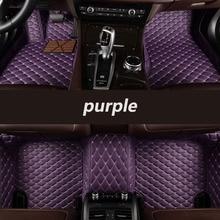 HeXinYan Custom Car Floor Mats for Bentley all models Mulsanne GT BentleyMotors Limited car styling auto accessories