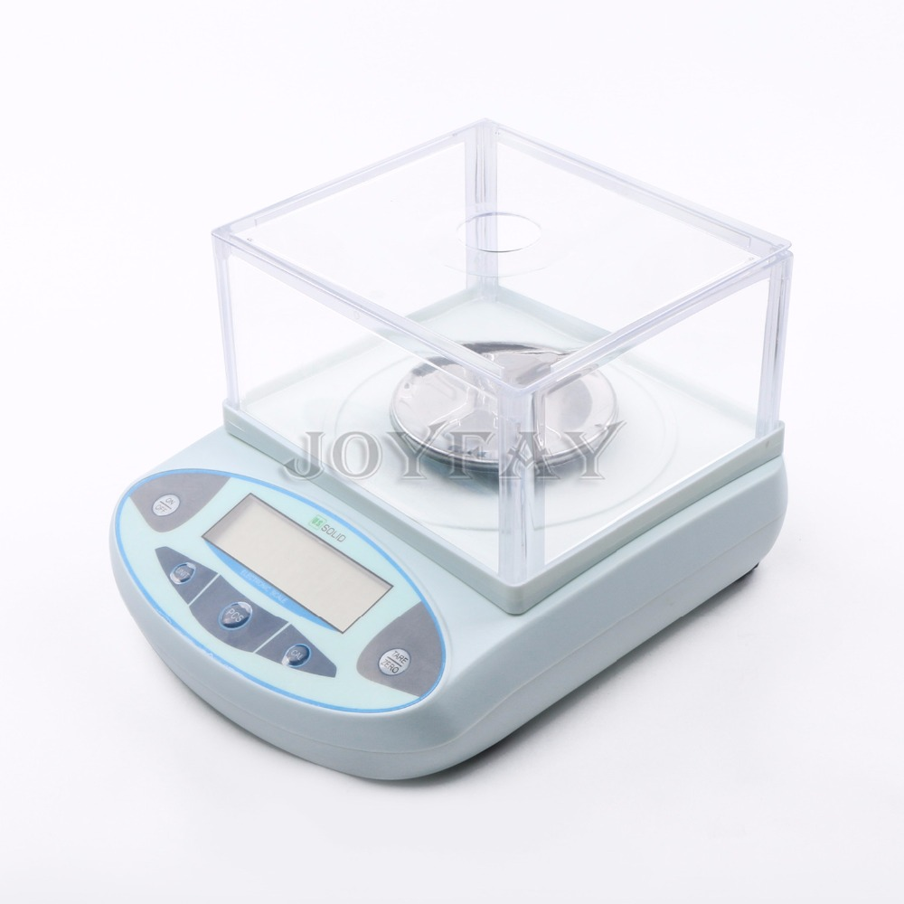 500 x 0.001 g 1mg Lab Analytical Balance Digital Precision Electronic Scale One Year Warranty
