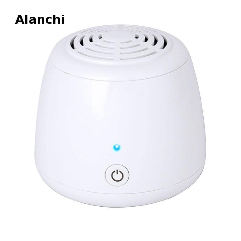 Ionic Ozone Generator USB Portable Air Purifier Remove Cigarette Smoke Odor Smell Bacteria Mini Air Cleaner Refrigerator Car