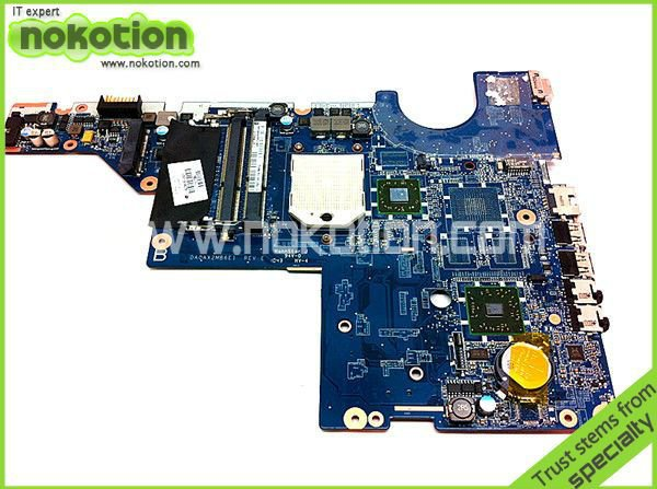 NOKOTION 623915-001 for HP Compaq CQ42 CQ56 laptop motherboard da0ax2mb6e1 Mainboard Motherboards 574680 001 1gb system board fit hp pavilion dv7 3089nr dv7 3000 series notebook pc motherboard 100% working