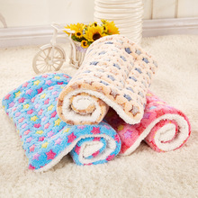High grade Washable Soft Cozy Warm Dog Mats Kennel Blanket Cushion Standard Pet Pad of Dog House Bed Cat Nest Car Seat Cover Mat