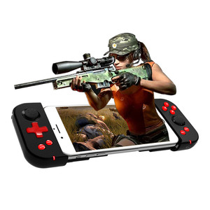Image 2 - Wireless Bluetooth 4.0 Gamepad Game Handle Controller Stretchable Joystick for iOS Android Smartphone Tablet For PUBG Mobile