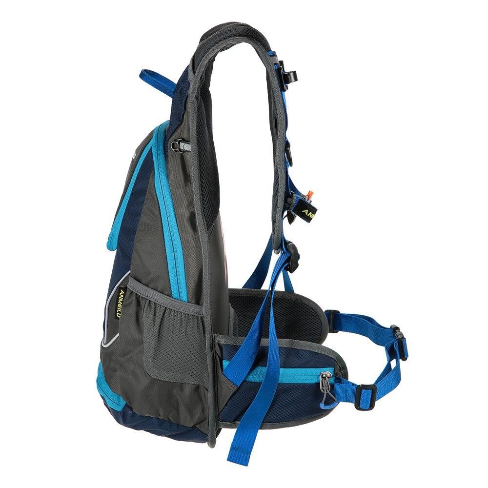 Anmeilu 12l Sepeda Tas Ransel 5 Warna Waterproof Bersepeda Travel Rucksack Hydration Air Botol Dengan Penutup Hujan Di Pannier Dari