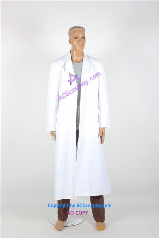 Steins Gate Rintarou Okabe Coat Cosplay Costume