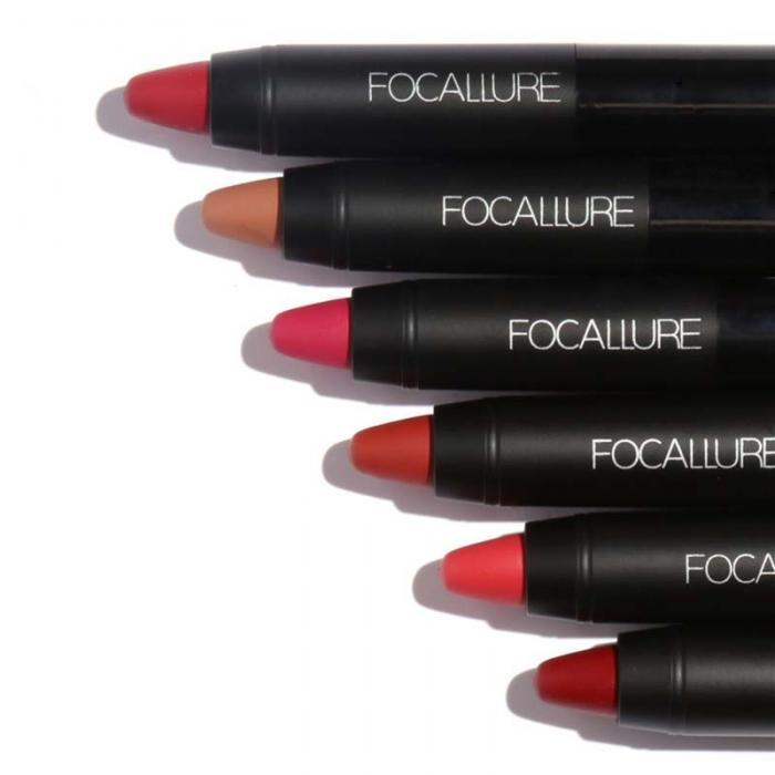 High Quality Focallure Women Matte Lipstick Pen Waterproof Long-lasting Cosmetic Nude Lady Lips Makeup Lipsticks well 7