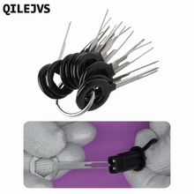QILEJVS 11 Pcs Car Terminal Removal Tool Kit Wiring Connector Pin Release Extractor #1
