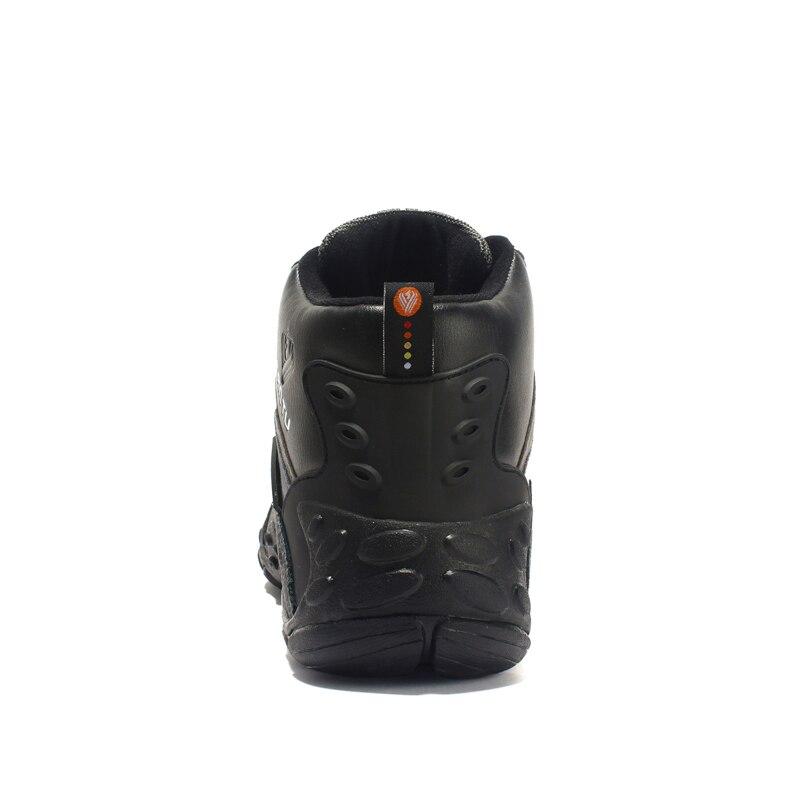 Taille Cuir Hombre orange Sneakers Chaussures Combat Bottes Casual Plein Mode De 46 dérapage 39 Hommes Bleu Travaillent Anti Sécurité En Randonnée Cheville Air Botas rR8Sgr1