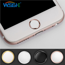 For iphone 7 plus home button sticker Support Touch ID Button Sticker iPhone 6S touch id iPad Air Mini 2