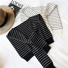 TOTRUST Knitted Scarf Womens Fake Collar Shirt 2019 Elegant Black White False Collars Woman Detachable For Women