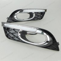 turn signal auto parts led For H/onda Ci/vic 2011 2015 daytime running lights Car styling