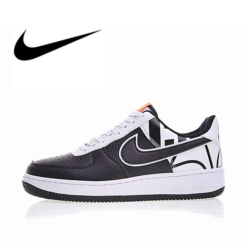 separation shoes 99ed1 b10fd Original Authentic Nike Air Force 1  07 LV8 Men s Skateboarding Shoes Sport  Outdoor Sneakers Designer