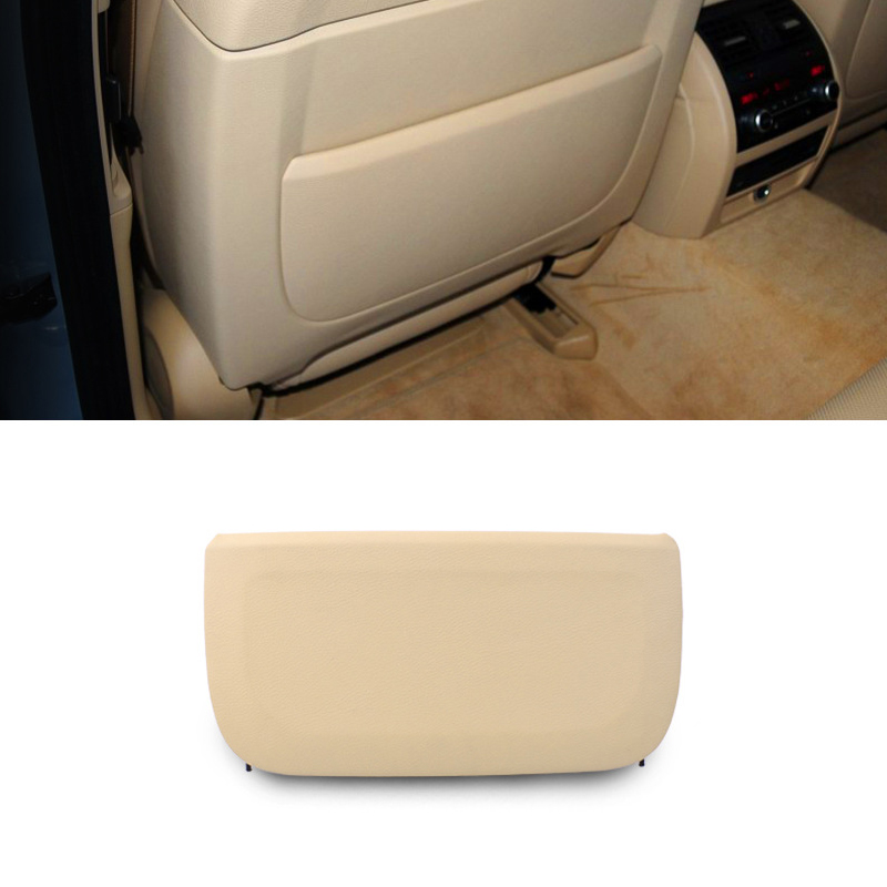 LHD RHD Car Seat Back Panel Part Cover Replacement Black Beige For BMW F10 F01 F02