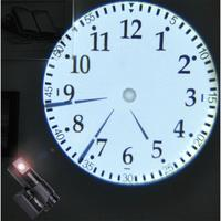 LumiParty Double Dial Plate Projection Wall   Clock   with LCD Display Home Office Decoration Gift -25