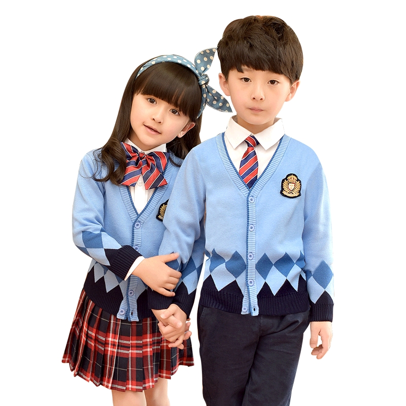 Children Clothing Set Shirt Skirt Clothes Sets For Girls Boys School Uniform Fashion Sweater Jacket Children Suits Uniform 3-10T baby clothes for boys girls t shirt shorts suits clothing sets summer for the school kids children s clothing for boys 3 4 years
