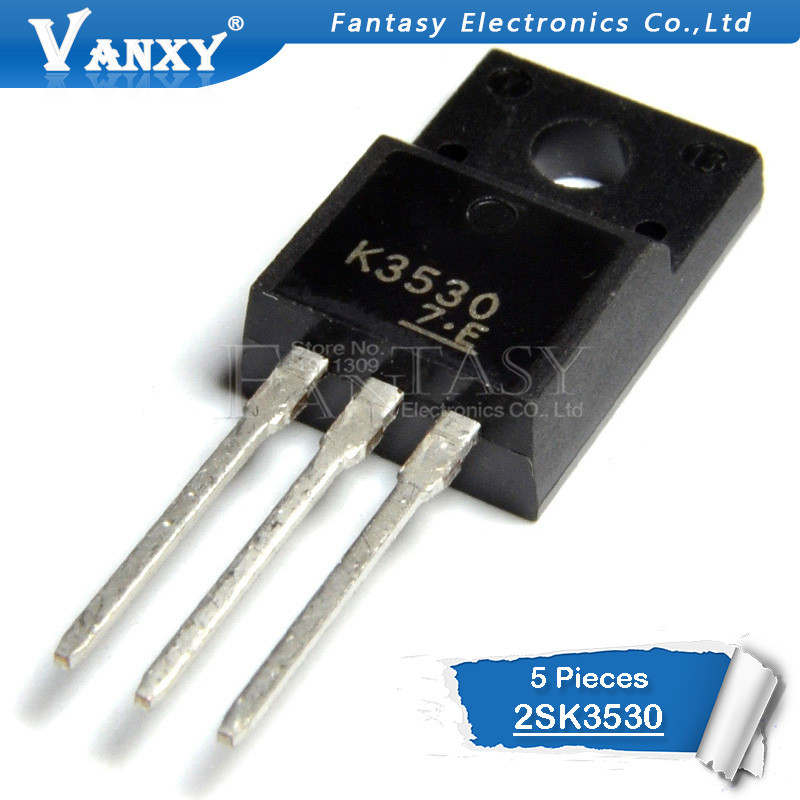 5pcs 2SK3530 TO-220F K3530 TO-220 New Original