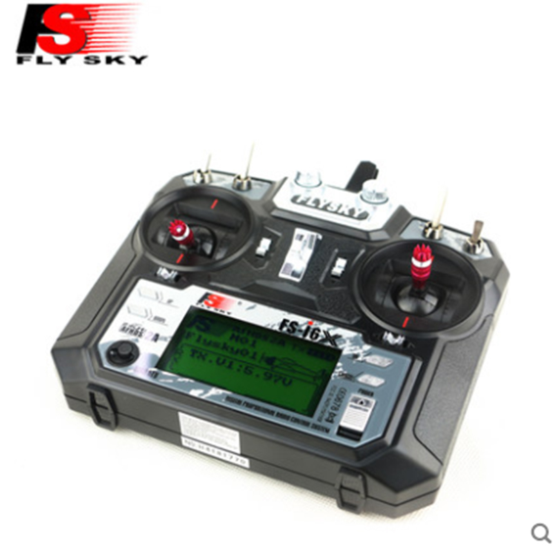 Flysky FS-i6X 2.4G 6CH/10CH Transmitter TX with i-BUS IA6B/ IA10B/X6B ReceiverFor Drone RC Quadcopter