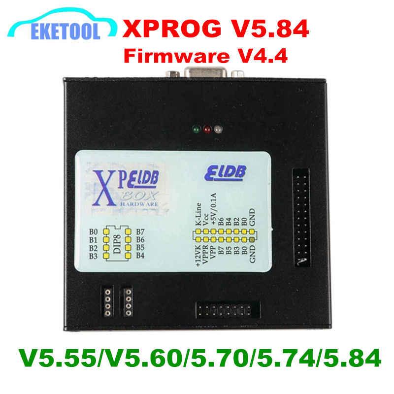 XPROG V5 70 V5 74 V5 84 USB Dongle With Full Adapters XPROG