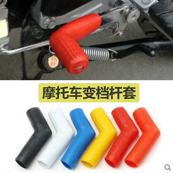 Motorcycle Gear Lever Set Notch Set Refires Protective Case Shift Lever Sleeve Motorcycle Modification Accessories With Logo ...