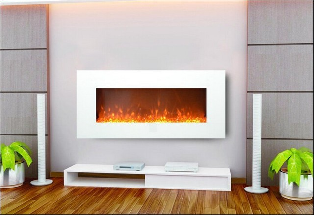 Promotions Europe 220v Wall Mounted Imitation Electric Fireplace Remote Control