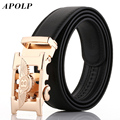 APOLP 2017 New Hot Fashion Style Leather Bentley Belt Men Automatic Mens Belts Luxury Brand Fashion Designer Belts high quality