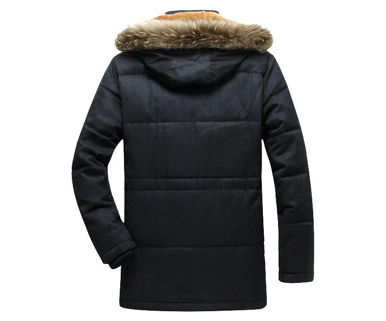 Thick Warm Parka Men New Hot Long Winter Jacket Men Hooded Military Cargo Mens Winter Coat Plus Size M-5XL 13