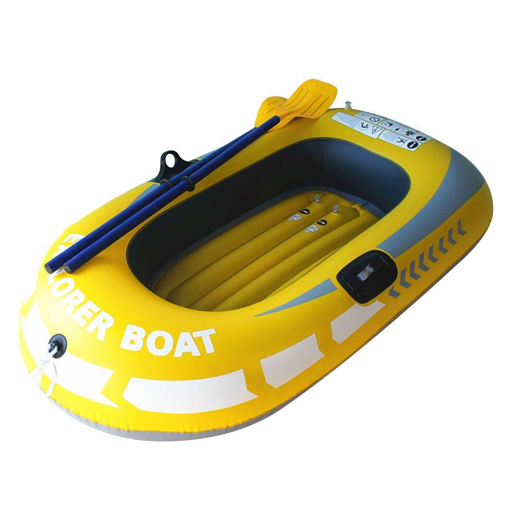 Bateau en caoutchouc professionnel kayak PVC individuel pratique à la dérive pêche Sport outils en plein air gonflable