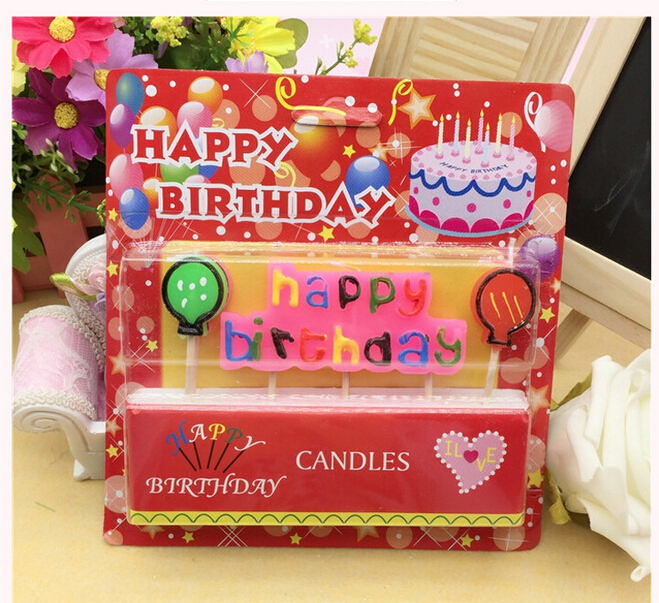 New Hot Sale Baby Child Happy Birthday Party Sparkle Cake Candles Assorted Colored Flames Safe Taper Chime Decor In From Home