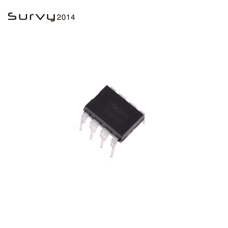 20PCS TL071 TL071CP DIP-8 TI LOW NOISE JFET INPUT OPERATIONAL AMPLIFIERS NEW IC
