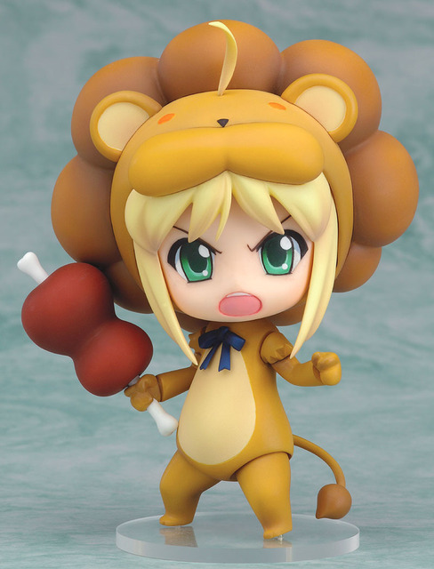 Fate Stay Night Saber lion Action Figures PVC Collection Figures toys for christmas gift with retail box