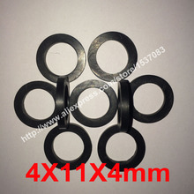 4X11X4mm NBR rubber flat gasket o ring seal washer
