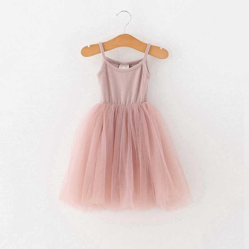 4 цвета, летнее платье для девочек, Повседневная стильная одежда для маленьких девочек, детские платья, 2019 хлопок, ТРАПЕЦИЕВИДНОЕ платье принцессы на день рождения