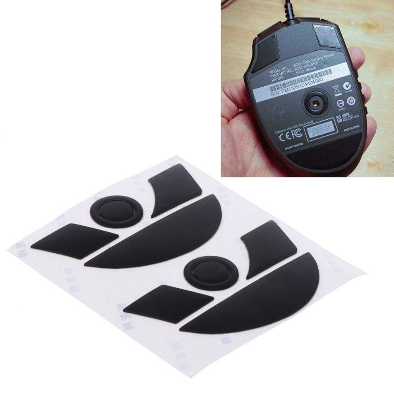 2 ensembles 0.6mm téflon souris patins souris autocollants Pad pour Razer Naga 2014 souris
