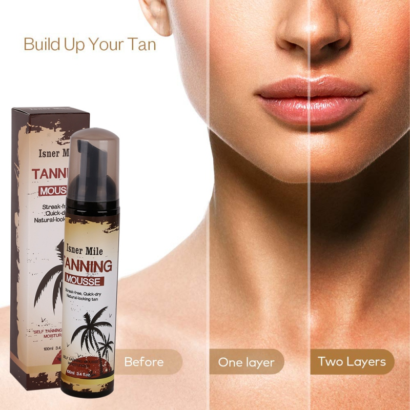 100ml Effective Body Self Tanners & Bronzers Long-lasting Moisturizing Sunless Tanning Lotion Self Tanner Body Bronzer Skin(China)